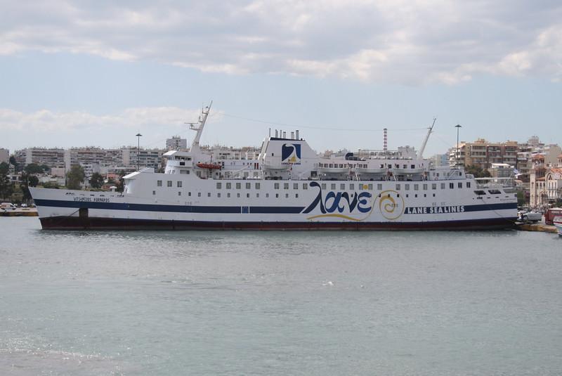 2008 - F/B VITSENTZOS KORNAROS in Piraeus.