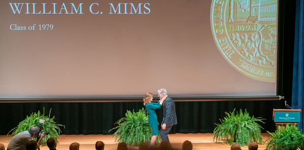 02_Bill Mims W&M Alumni Medallion Ceremony