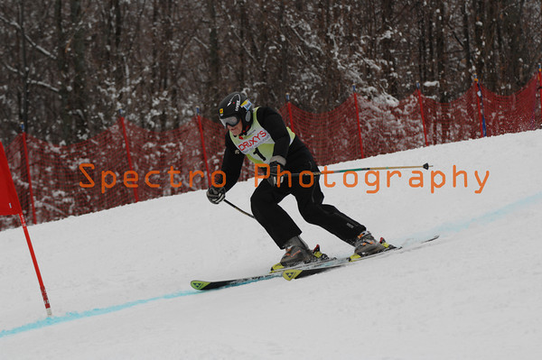 Masters Provincial Championships GS 2nd Run