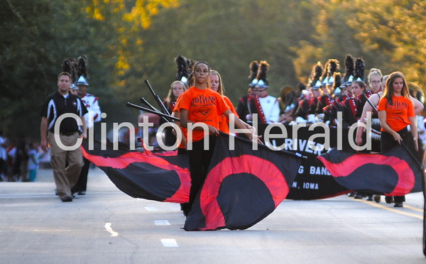Clinton Homecoming Parade