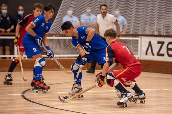 Semifinal: Spain vs Italy