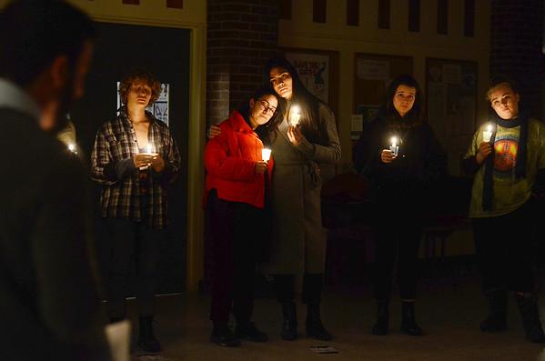 Transgender Day of Remembrance in Bennington - 112019