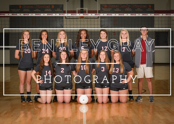 BHS Volleyball Team Pictures 2016