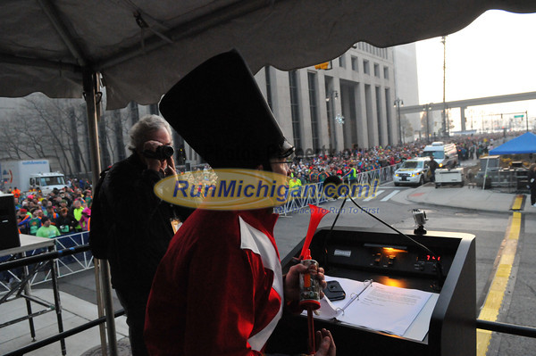 5k/10k Start - 2012 Detroit Turkey Trot