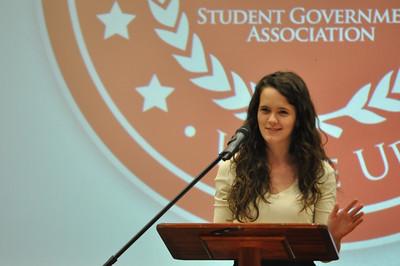 SGA Election Speeches