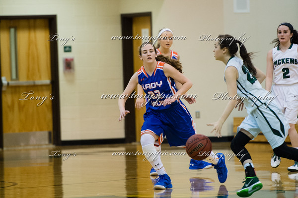 Lady Bruins Vs Pickens 26 Jan 2016