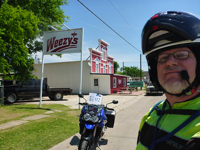 2015 5/2 Ride to Weezy's in Blossom, TX