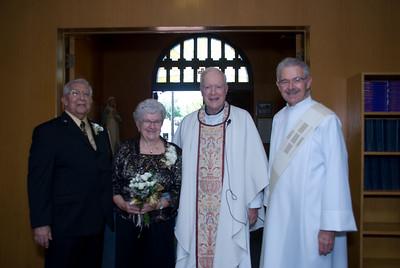 50th Wedding Anniversary  - Charles and Luella Davis