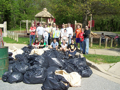 4.11.10 Sawmill Branch Stream Cleanup in Catonsville Park