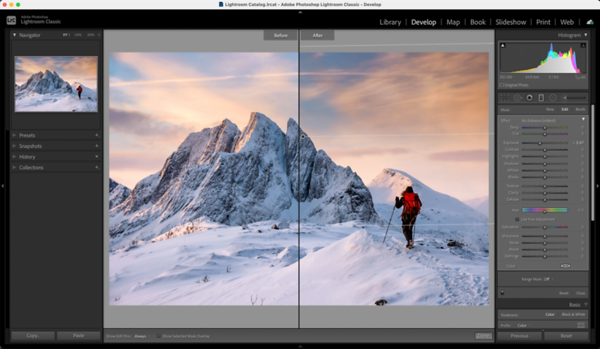 Lightroom - How To Fix Washed Out Skies