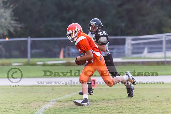 Boone Freshman Football #14 - 2012