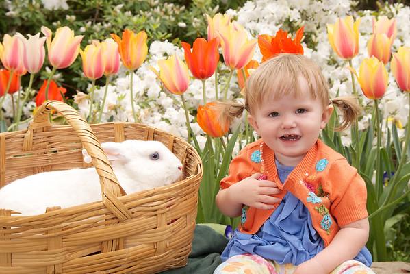 Dallas Arboretum Easter Rabbit 3/31