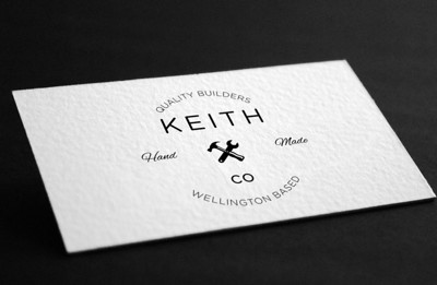 Keith & Co - Business Card Design