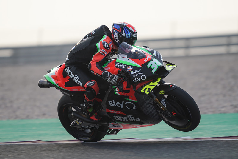 Bradley Smith at the 2020 Qatar MotoGP test - photo Cormac Ryan Meenan