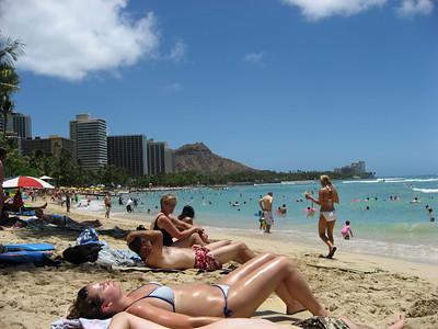 2006-07-27 to 7-30  Waikiki Beach
