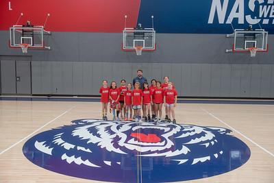 Women's Basketball Camp June 9, 2021