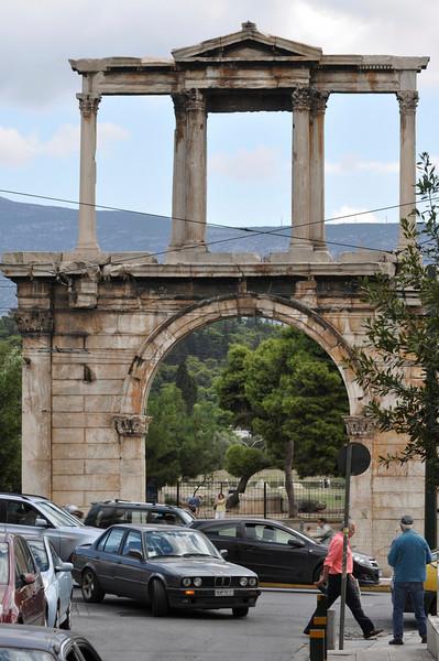 Hadrian Arch, Oct. 2010
