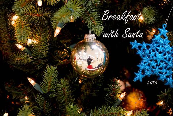 Breakfast with Santa - 2016