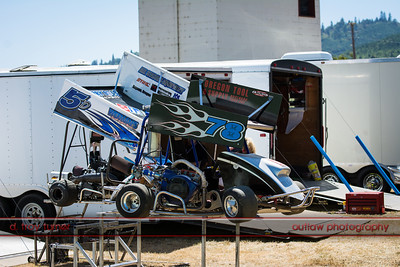 Outlaw Karts - Coos County Fairgrounds - July 27, 2013