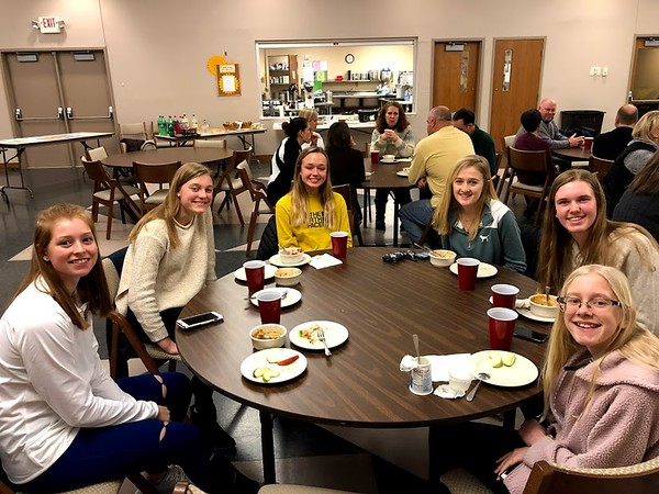 Youth Dinner - January 13 2019
