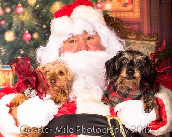 Photo's with Santa 2017