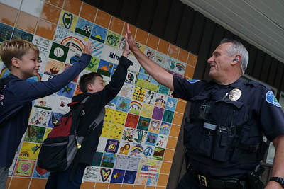 First Day of School: Happy Valley Elementary