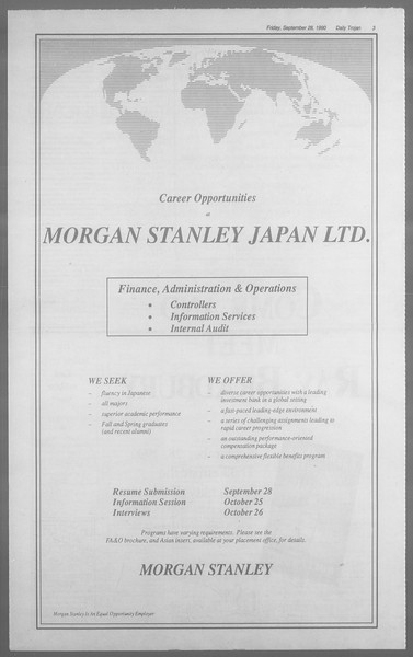 Daily Trojan, Vol. 113, No. 19, September 28, 1990