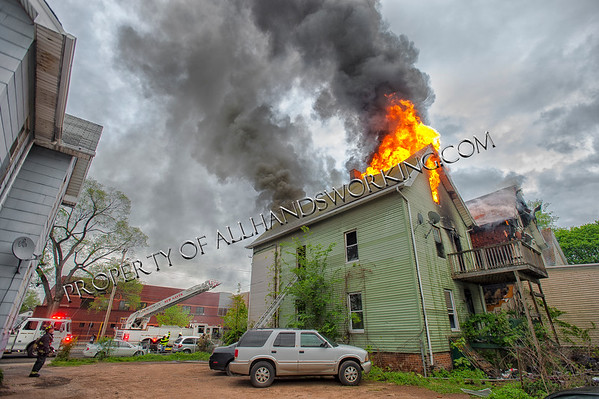 New Haven 2nd alarm 266 Blatchley Ave
