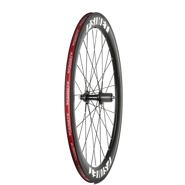 Rear wheel side shot #3 - PSIMET Carbon Road Wheelset