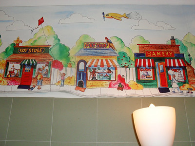 westfield mall mural