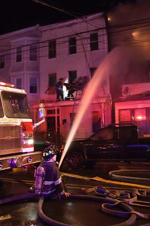 Paterson NJ 4th alarm, 95 & 93 4th Ave. 12-18-14