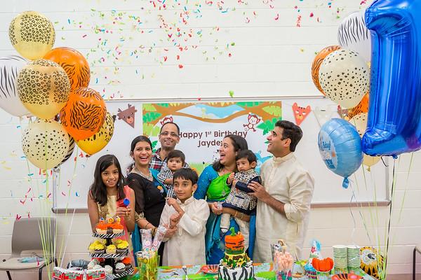 Jaydev Ajay 1st Birthday