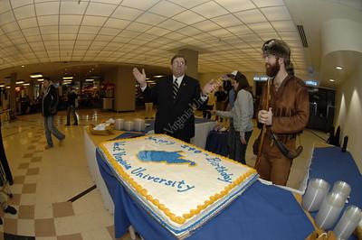 24486 WVU 140TH BIRTHDAY CAKE CUTTING