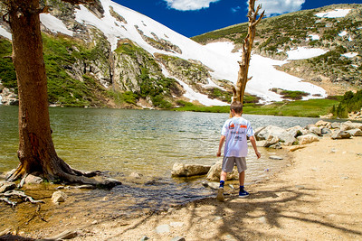 A Day at St. Mary's Glacier