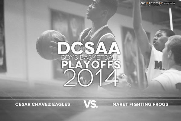 DCSAA Playoffs Boy Cesar Chavez v Maret