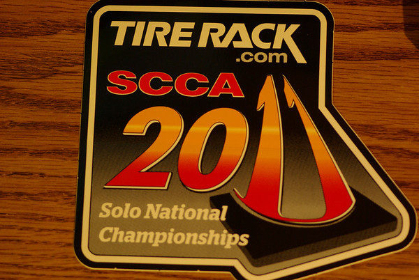 2011 SCCA Solo Nationals at Lincoln
