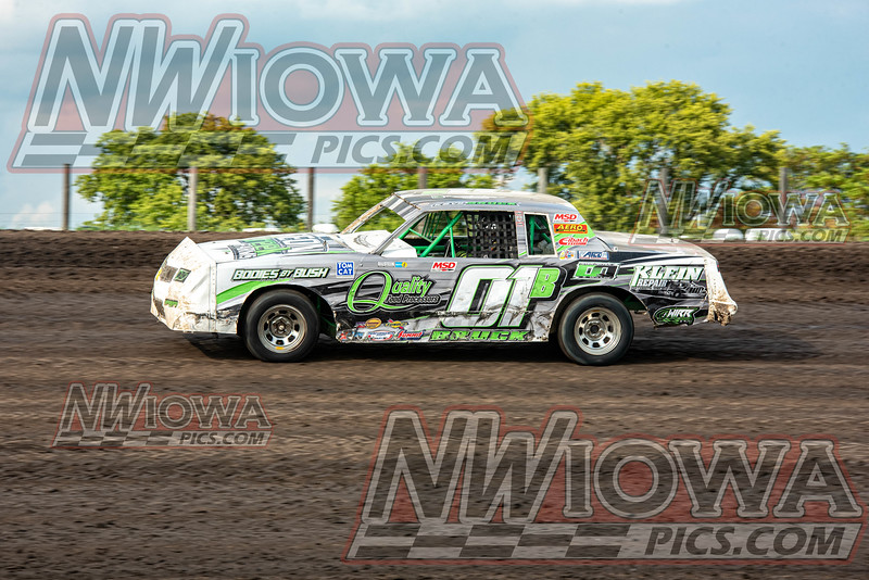 Crawford County Speedway 7-4-19 Arnold Motor Supply / WIRR Mod-Stock Car Tour