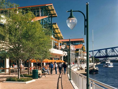 Jacksonville Landing History - HDS Architecture