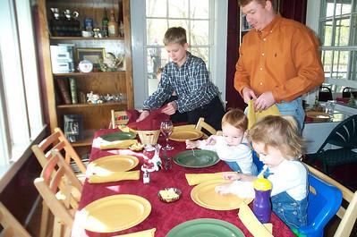 Thanksgiving / Camping 2002