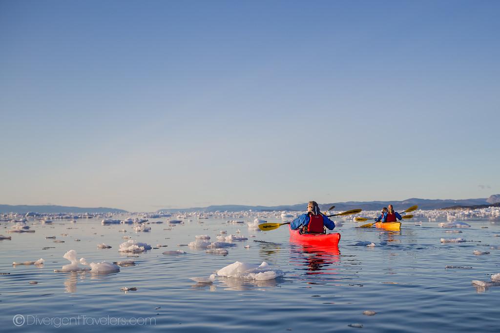 Greenland kayaking - Lina Stock