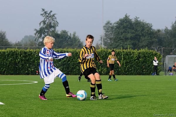 Frisia D2/D3 Seizoen 2011 - 2012