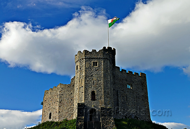 Cardiff Castle's Great Keep
