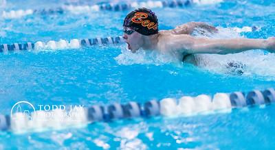 Strongsville High School Swim Team at Strongsville Recreation Center