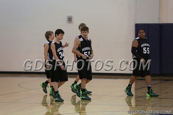 8th Grade Boys vs Kernodle 01-09-2014