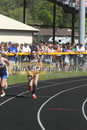 UP Girls' 4x800 Relay - 2014 MHSAA T&F Finals