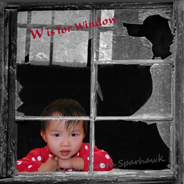 W is for Window