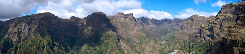 Curral das Freiras, a formerly inaccessible convent and hamlet high in the mountains of Madeira.  You can now reach it by road, via a system of tunnels and steep climbs.