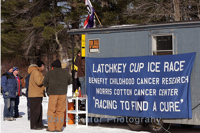 2009 Latchkey Ice Racing in Moultonborough, NH