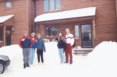 1992 - Mom, David Beth - Skiing, WV