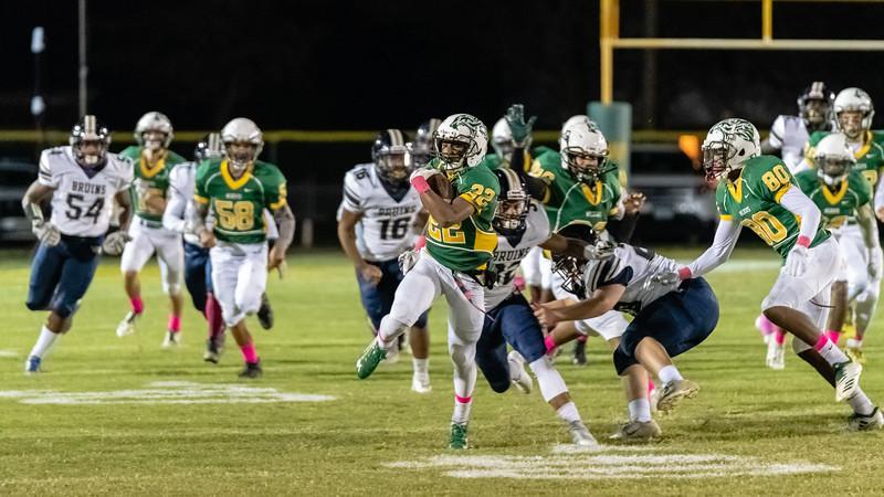 2018-10-19 Western Branch v Great Bridge Varsity Football